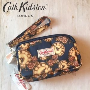 Cath Kidston Triple Zip Time Wristlet